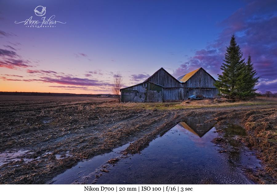 Photo de paysage lumiere2