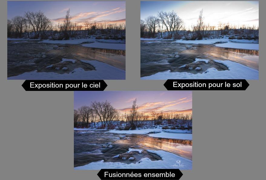 Ciel Cramé - Fusionner Deux Images