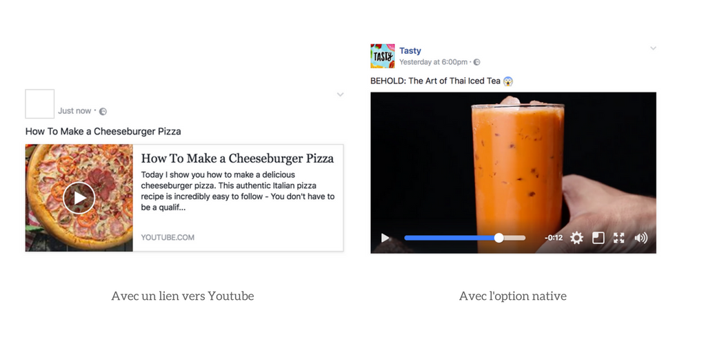 Video Youtube Post Facebook