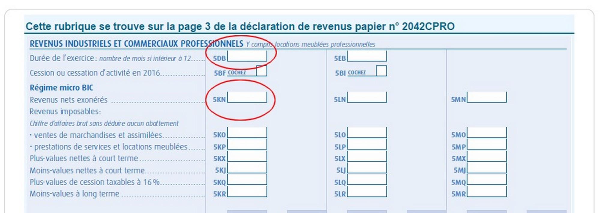 déclarer l'impôt sur le revenu auto-entreprise déclaration prélèvement libératoire