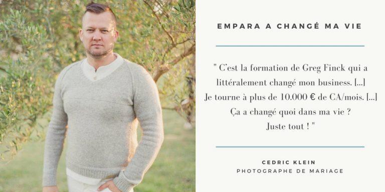 devenir photographe empara a changé ma vie