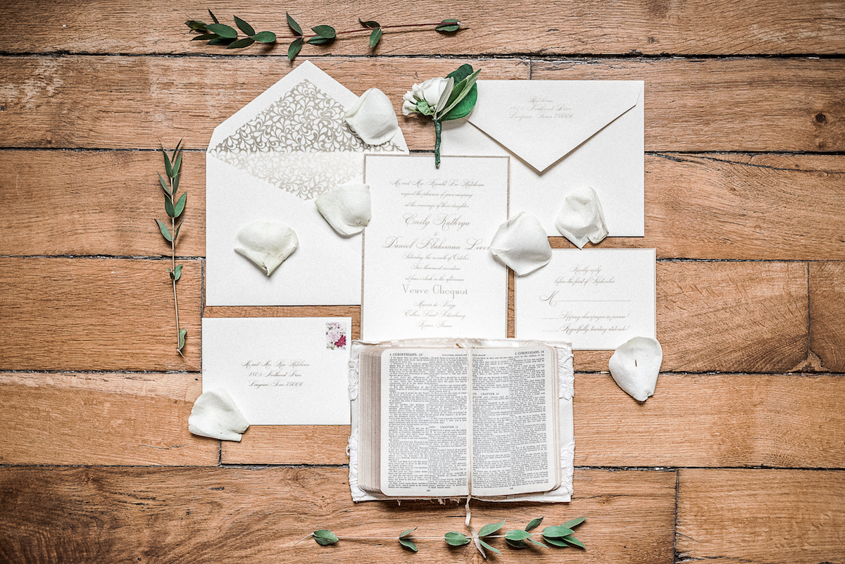 devenir photographe mariage papeterie