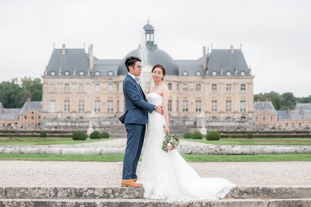 photographe mariage château vaux le vicomte
