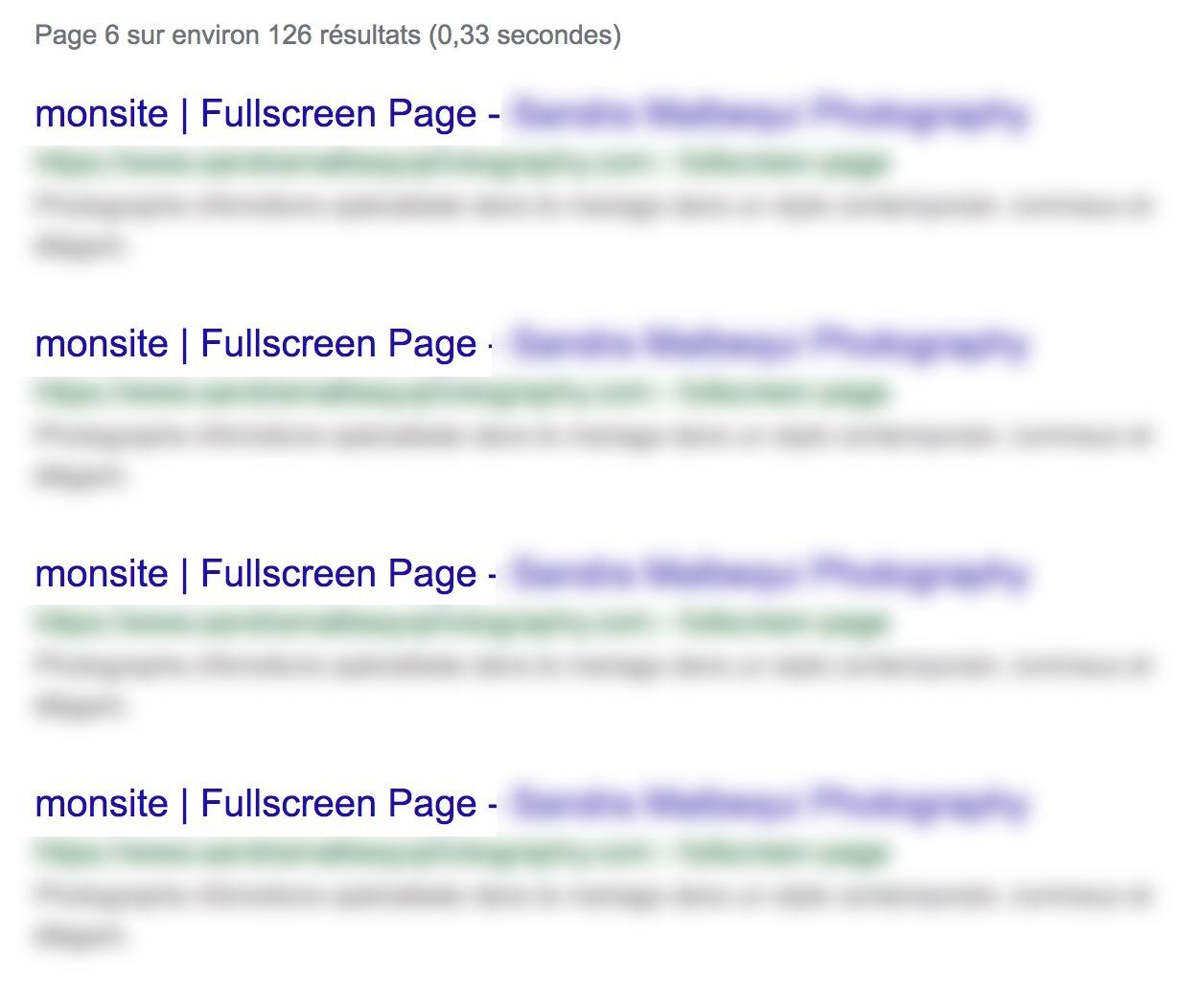 """Exemple résultats recherche """"site:"""" sur Google"""