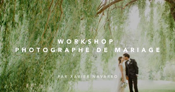 Apprendre la photo, workshop photographe de mariage
