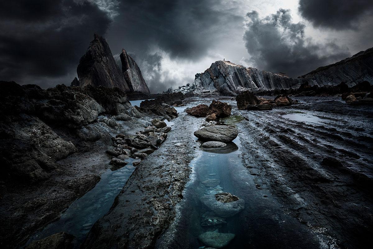 tuto photo paysage rochers et montagnes