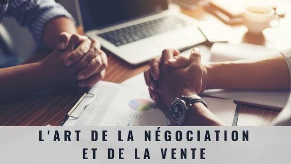 formation vente et négociation