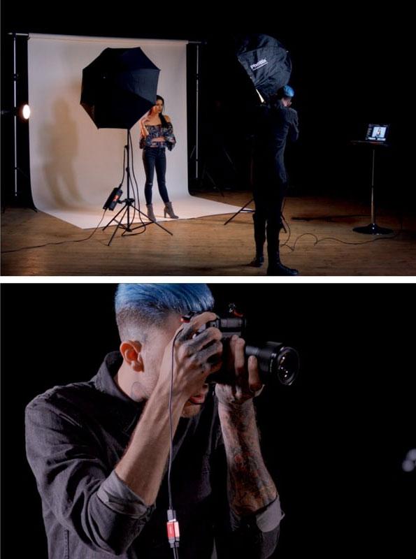 Formation portrait en studio avec Félix Barjou