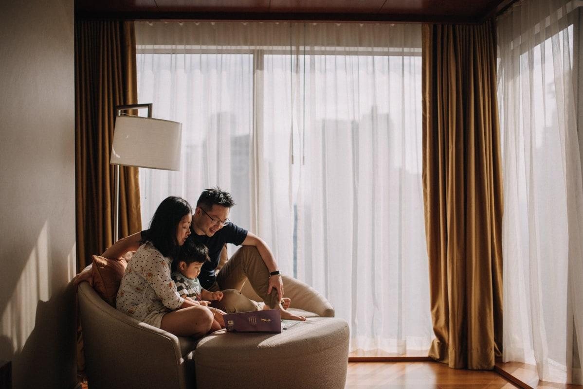 séance photo bébé et de famille lifestyle