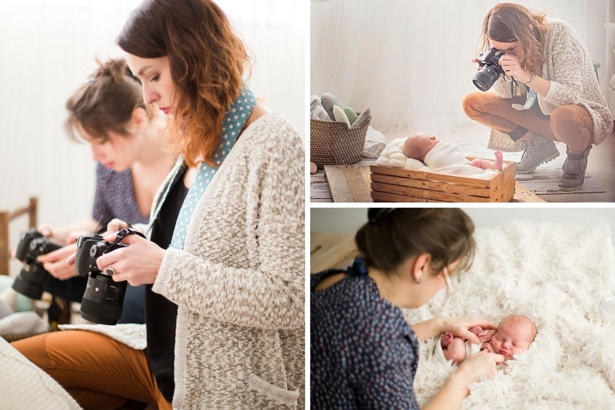 technique emmaillotage bébé pour photographe nouveau né